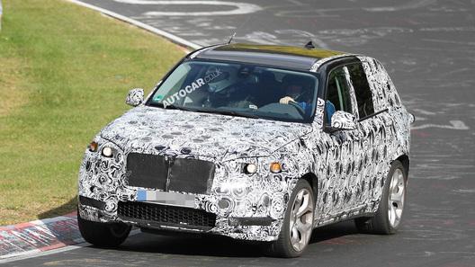 BMW приступил к тестам нового поколения Х5 М