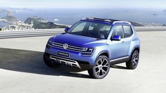 Volkswagen представил новый компактный кроссовер Taigun