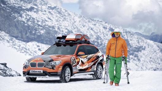 BMW покажет в Лос-Анджелесе экологический и горнолыжный концепты
