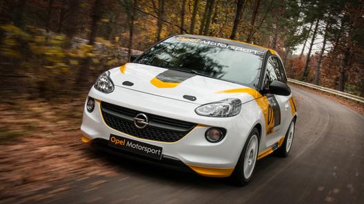 Opel организует собственные фирменные гонки