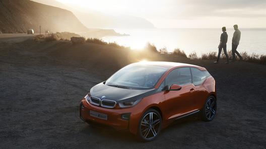 BMW представил новый электрический прототип i3 Concept Coupe
