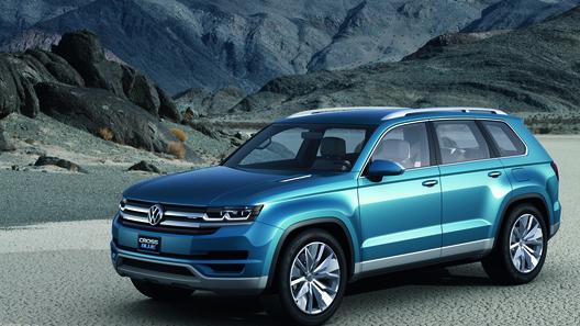 Volkswagen покажет в Дейтройте прототип нового кроссовера