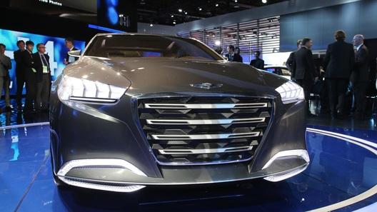 Hyundai привезла в Детройт экстравагантный прототип премиум-седана