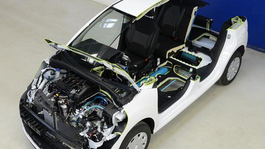 Серийные Peugeot смогут ездить на воздухе в 2015 году