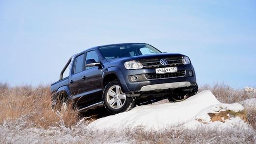 VW Amarok Automatic: выгуливаем на воле двухпедального