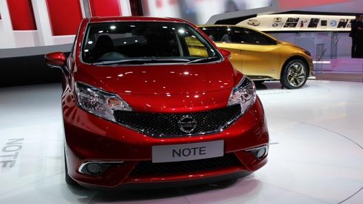 Nissan показал в Женеве европеизированный Note