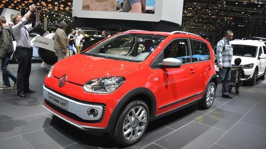 VW up! по пути в Женеву превратился во