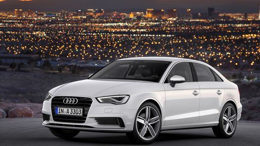 Цены на седан Audi A3 начнутся с 870 000 рублей