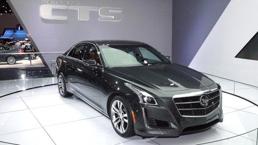Cadillac привез в Нью-Йорк седан CTS c 8-ступенчатым