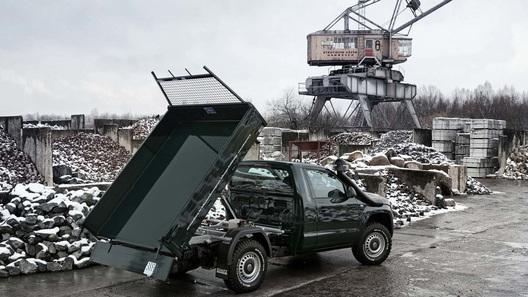 Volkswagen Amarok превратили в самосвал