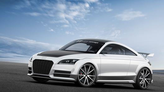 Ультралегкий концепт Audi TT получил пластиковую подвеску