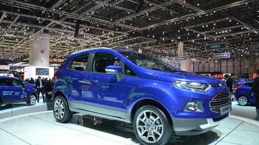 Кроссовер Ford  EcoSport обойдется в 700 тысяч рублей