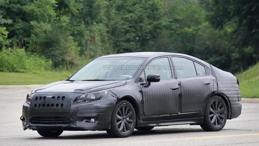 Новый Subaru Legacy покажут через год