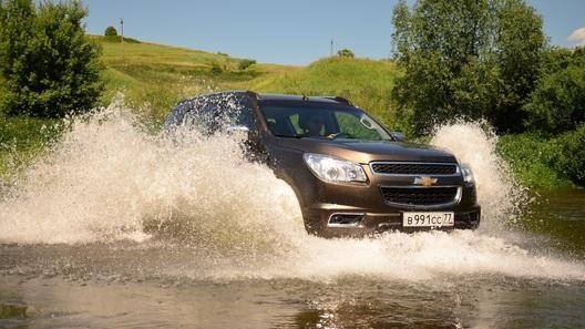 Проверяем на честность внедорожник Chevrolet Trailblazer