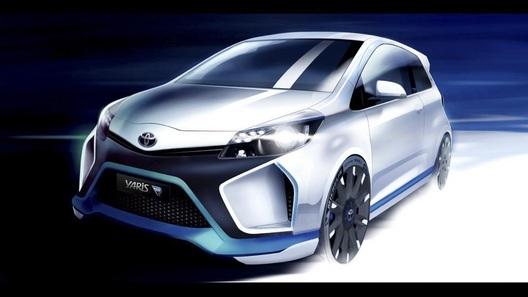 Toyota поставила на свой новый концепт-кар целых четыре мотора
