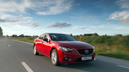 Пытаемся понять, что значат лишние поллитра под капотом Mazda6