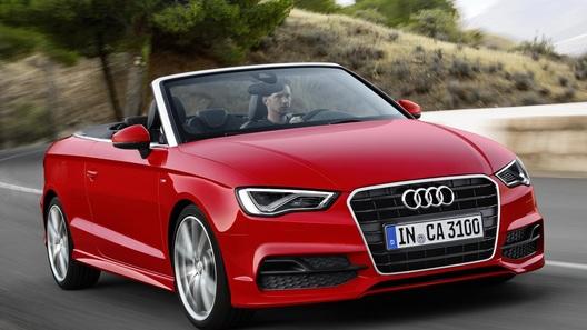 Кабриолет Audi A3 пошел в серию