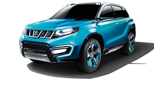 Новинка от Suzuki: новая Grand Vitara или конкурент Nissan Juke?