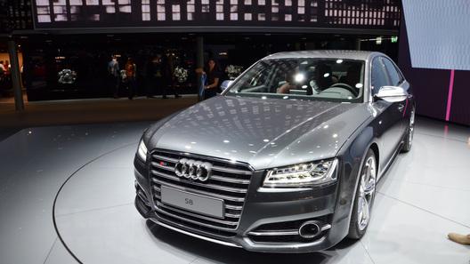 Обновленные Audi A8 и S8 представлены