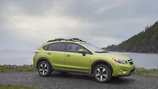 Subaru выпускает на рынок свой первый гибрид