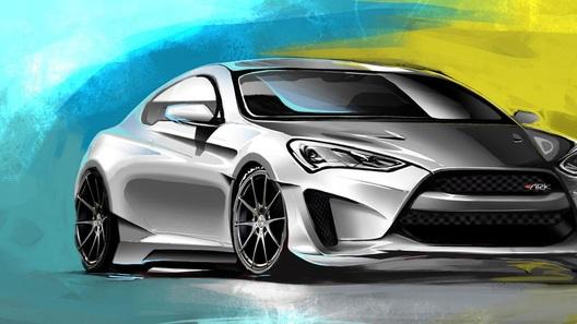 Купе от Hyundai превратят в 400-сильное Legato