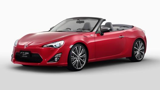 Toyota снова дразнит кабриолетом