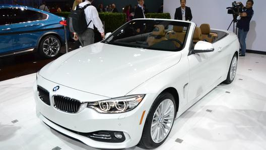 Кабриолет BMW 4 серии будет стоить в Европе на $14 тысяч дороже, чем в США