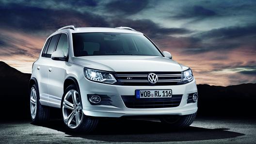 Volkswagen привез в Россию спортивный Tiguan R-Line
