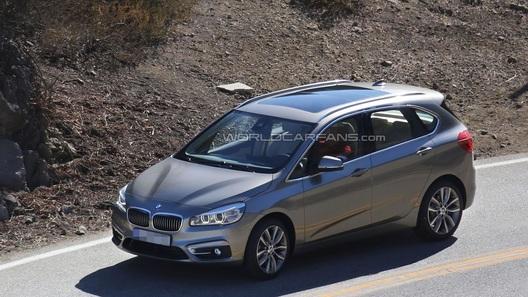 Внешность первого переднеприводного BMW перестала быть секретом