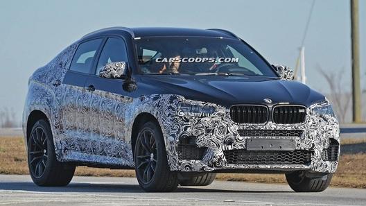 Новое поколение BMW X6 M появится в 2015 году