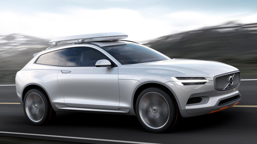 Новый концепт Volvo намекает на перемены в облике шведских кроссоверов