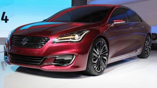 Suzuki готовит новый седан и компактный кроссовер