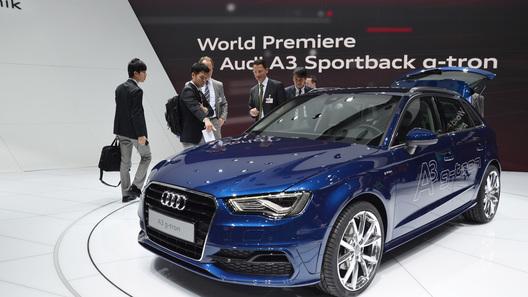 Audi A3 Sportback на газовом топливе обойдется в 26 тысяч евро