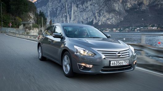 Новая Nissan Teana будет стоить в России от 1 млн рублей
