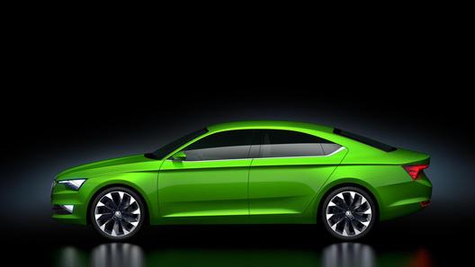 Skoda рассекретила свое первое пятидверное купе