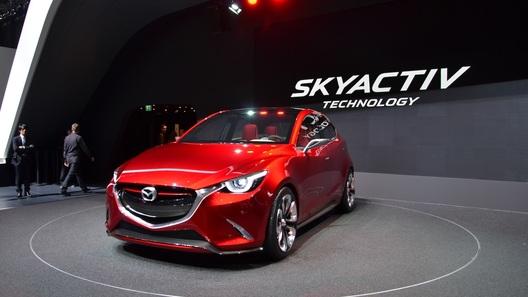 Mazda обещает сделать младшую модель самой яркой и агрессивной