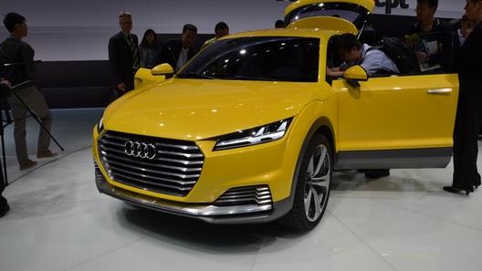 Купе Audi TT по пути в Пекин перевоплотилось в компактный кроссовер