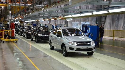 В Тольятти стартовало производство лифтбека Lada Granta