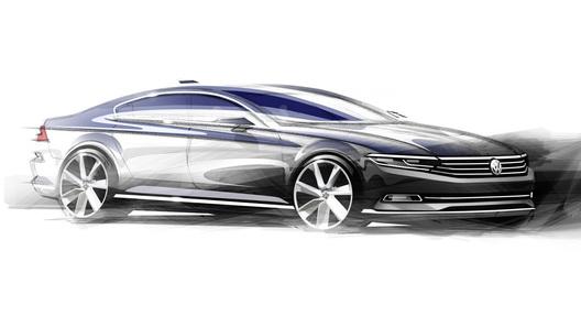 Новое поколение Volkswagen Passat покажут миру 3 июля