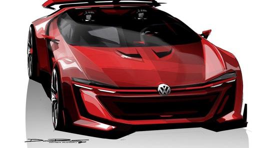 Volkswagen создал суперкар дли видеоигры