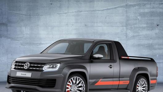 Volkswagen построил музыкальный пикап Amarok