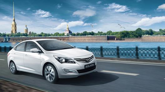 Обновленный Hyundai Solaris появился в Петербурге