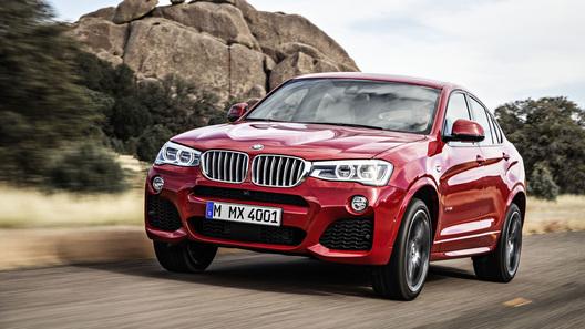 Новый BMW X4 будет стоить от 2,3 млн рублей