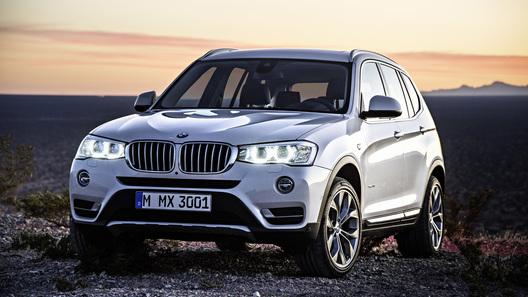 Кроссовер BMW X3 перейдет на электричество