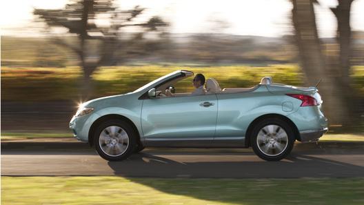 Кабриолет Nissan Murano не оправдал ожиданий