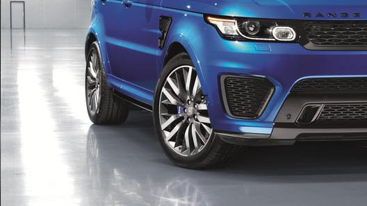 Range Rover Sport SVR выпустят в экстремальной трековой версии
