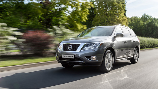 Nissan представил новое поколение внедорожника Pathfinder
