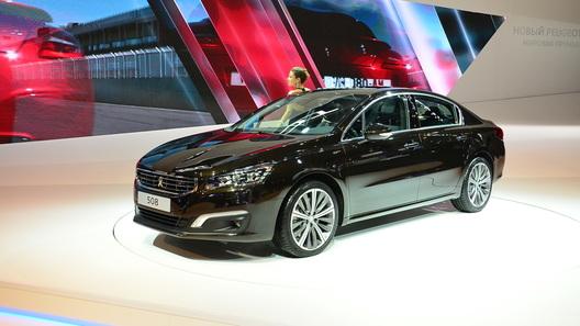 Седан Peugeot (Пежо) 508 вырос вцене на 260 тыс. руб.