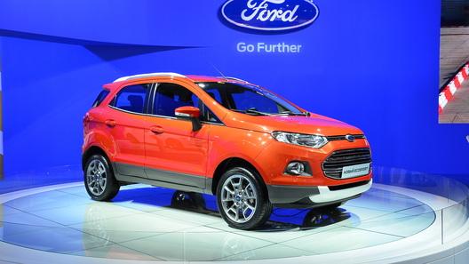 Ford объявил комплектации и цены на новый EcoSport