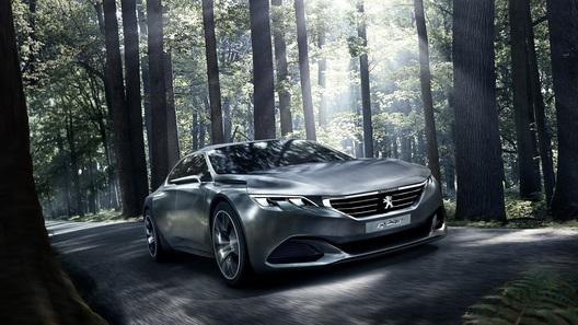 Peugeot адаптирует для Парижа пекинский концепт с